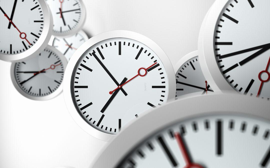 Time management: where do we start?
