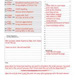 Daily Priority Planner Pad