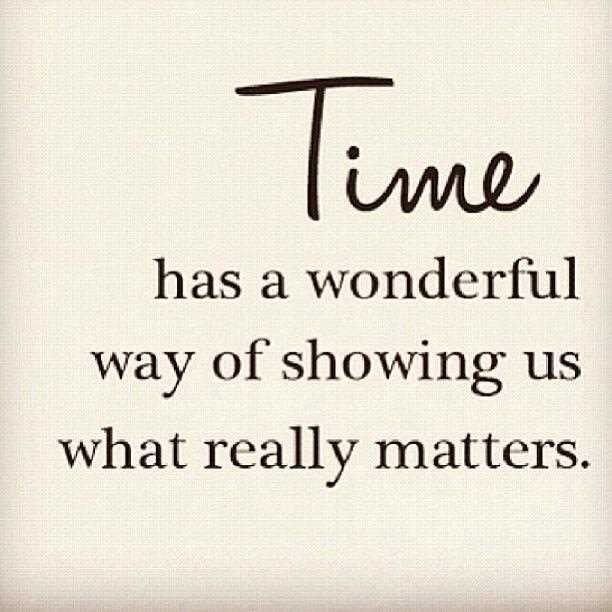 Time is the currency of life.