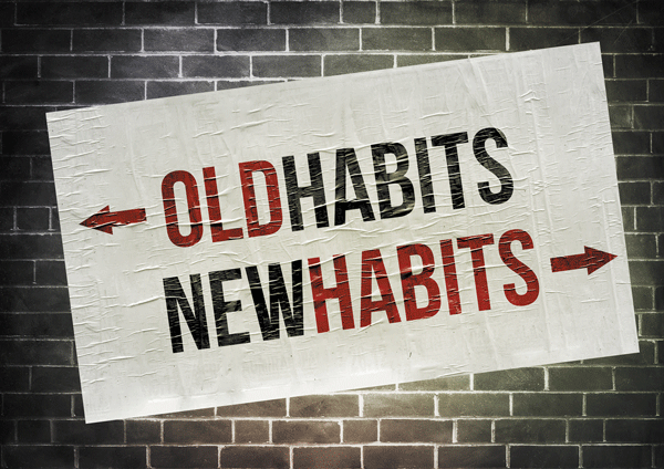Routines and habits consume less brain energy.