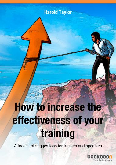 How to increase the effectiveness of your training
