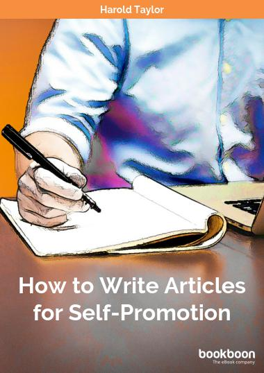 How to Write Articles for Self-Promotion