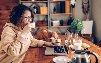 The trend towards telecommuting