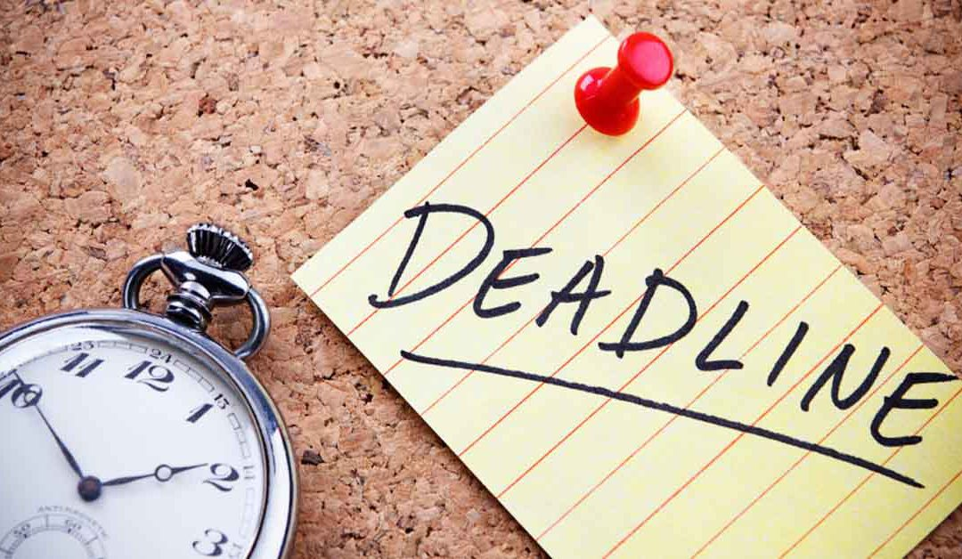 How to set realistic deadlines