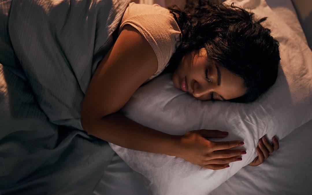 Do not underestimate the importance of sleep.