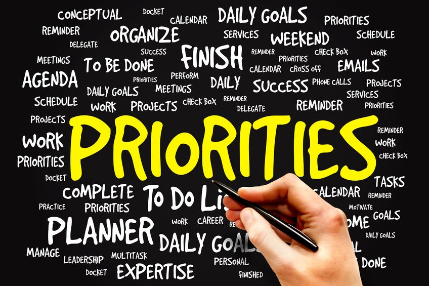 Whose priorities are in your planner?